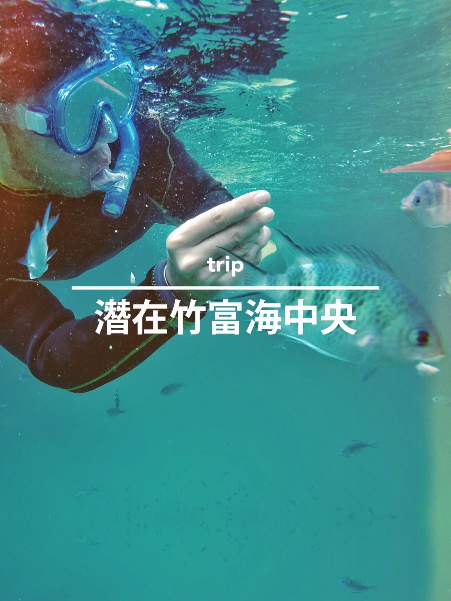 潛在竹富海中央